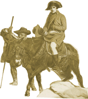 Napoleon on a Donkey